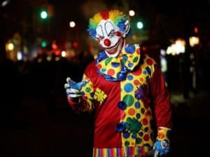 History of the Evil Clown
