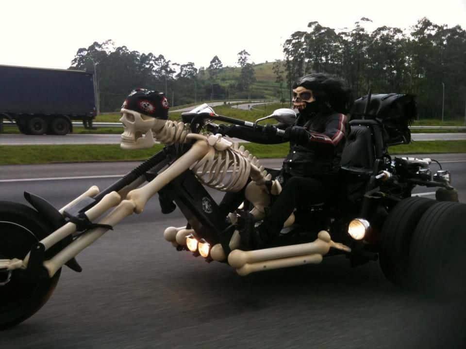 Спокойной, приколы мотоциклистов картинки