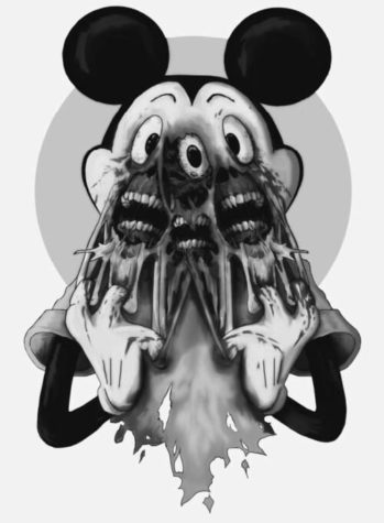 Mickey in Hell