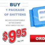 Shittens – Neue Erfindung, Toilettenpapier w formularzu Topflappen