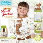 Zwangsjacke und anderes Spielzeug um widerspenstige Kinder unter Kontrolle zu kriegen