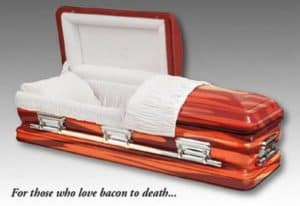 Sarg de point - Coffin Bacon