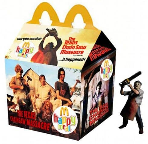 Texas Chainsaw Massacre Happy Meal