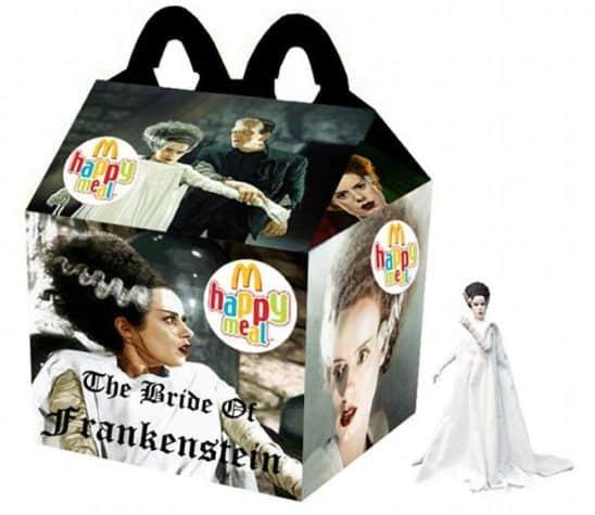 Frankenstein's Bride Happy Meal