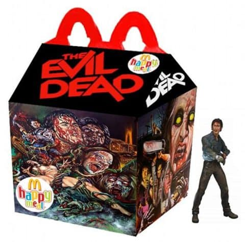 Evil Dead Happy Meal