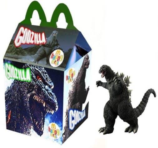 Godzilla Happy Meal