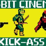 Kick-Ass como 8-bit video game