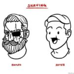 Experiences before and after shaving