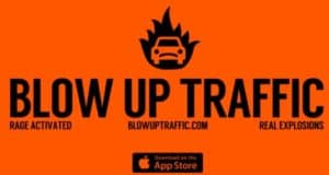 Blow Up Traffic - Hunt Per app other road users in the air
