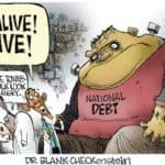 Dr.. Cheque em branco Pedra: Ele está vivo! vivo!