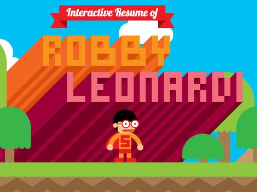 Interaktiver Lebenslauf von Robby Leonardis