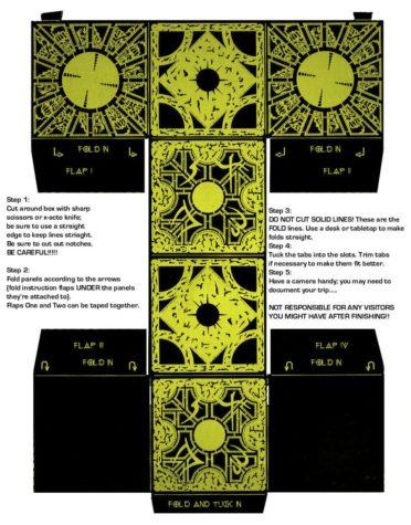 Hellraiser Puzzle Box zum selberbasteln