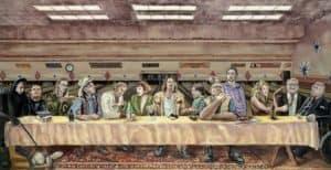 Das letzte Abendmahl: The Big Lebowski