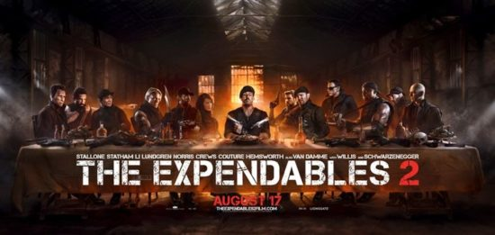 The Last Supper: The Expendables 2