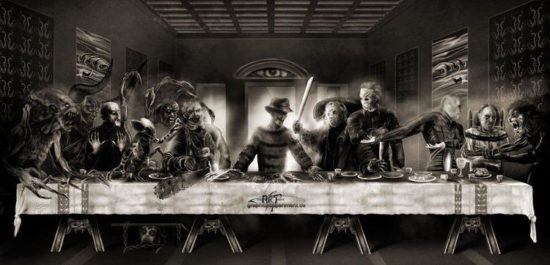 The Last Supper: Horror Movie Stars