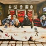 The Last Supper: Horror Movie Stars (2)