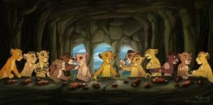 The Last Supper: Lion King