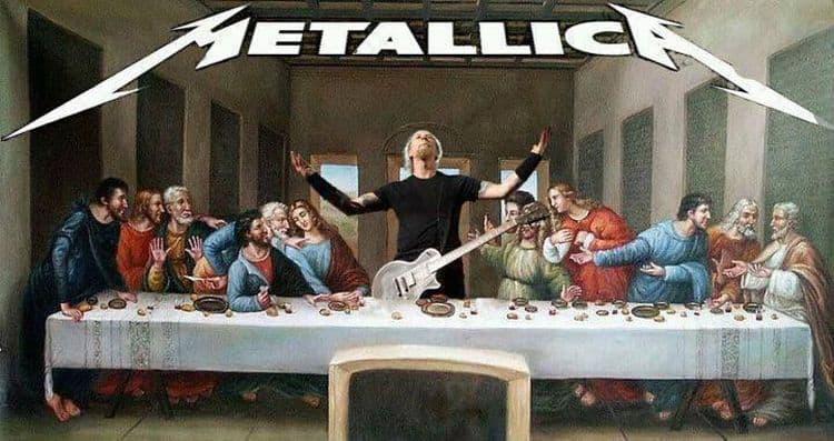 Das letzte Abendmahl: Metallica