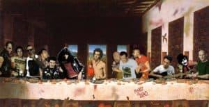 Das letzte Abendmahl: Punk