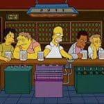 Das letzte Abendmahl: The Simpsons