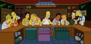 The Last Supper: The Simpsons