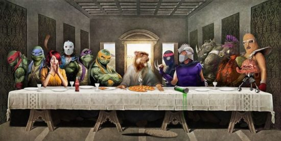 The Last Supper: Teenage Mutant Ninja Turtles (TMNT)