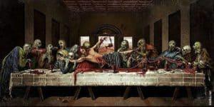 Das letzte Abendmahl: Zombies