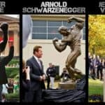 Action Movie Stars und ihre Statuen