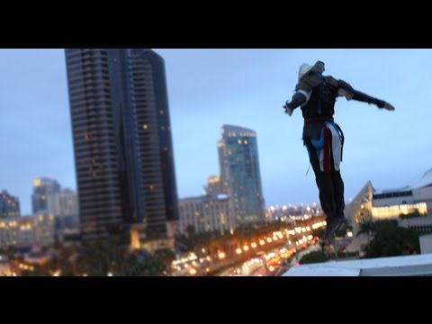 Assassin's Creed 4 meets Parkour in Real Life