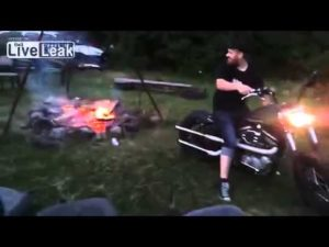 How To Light A Fire With Harley