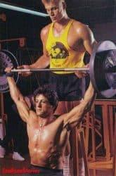 Lundgren & Rocky IV için kendi eğitim Anlar de Stallone