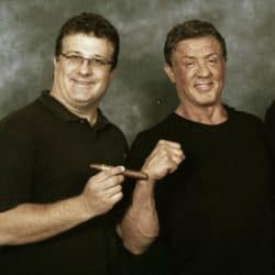 Sylvester Stallone requires a small fortune for an autograph