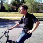 Bubble Wrap Bike – Rower z dozownikiem owiniÄ™cia bubble