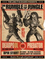 The Rumble in the Jungle: Deadpool vs Predator