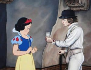 Snow White / Clockwork Orange Crossover