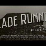 Blade Runner Trailer – Classic Noir