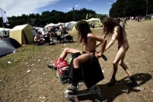 30 Dinge, die man nicht auf einem Festival sehen will