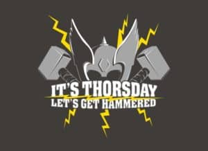 Het is Thorsday
