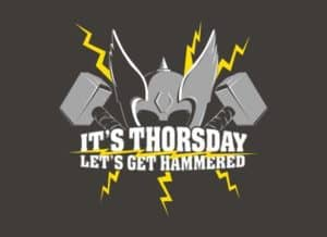 Det er Thorsday