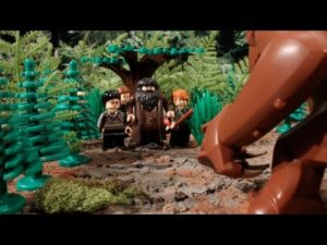 Lego: Harry Potter Meets een Rancor