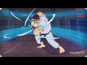 Ryu's längster Special Move