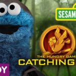 Sesamstrasse Hunger Games Catching Fire Parodi: The Hungry Spel – FÃ¥nga Fur