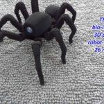 Spinnenroboter aus dem 3D Drucker
