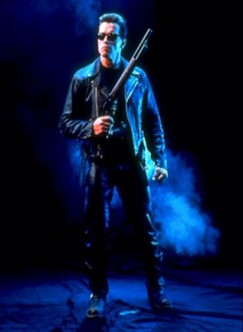 Terminator 2: Judgment Day Promotional Image - Sarah Connor
