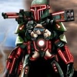 Boba Fett + Tron + Chat grincheux = RUN!