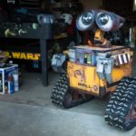 Wall-E robot in life size