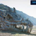 Woher der riesige Drachenschädel herkommt