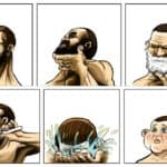 The secret of the beard