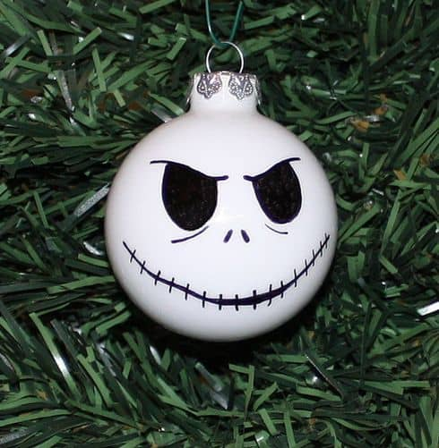 jack skellington christmas balls