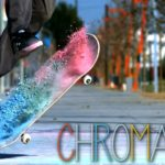 Chromatic: Ã…ka skridskor i Slow Motion mit Kreide